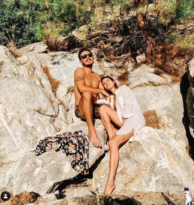 Deniz Baysal Yurtçu'nun tatil pozlarına hayranları beğeni yağdırdı