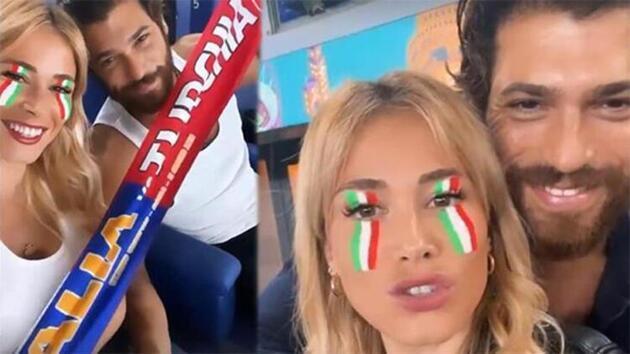 Can Yaman sevgilisi Diletta Leotta'yı ailesiyle tanıştırdı
