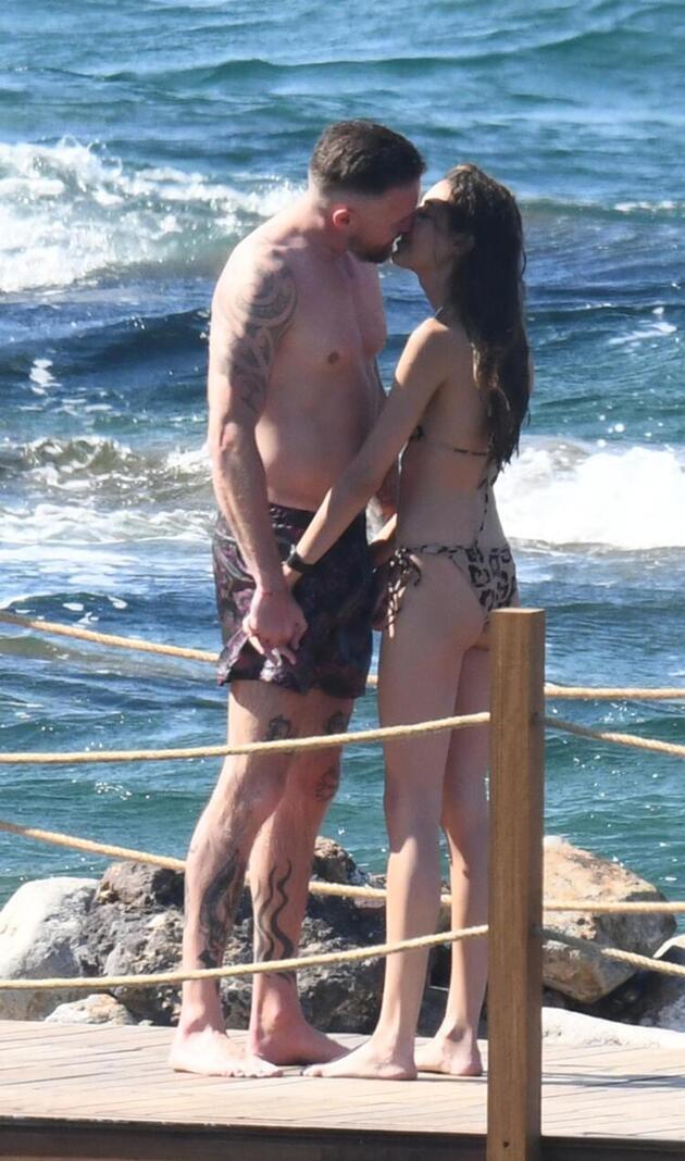 Dilan Çiçek Deniz ile Thor Saevarsson aşkından ilk kare geldi