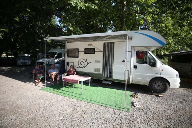 Tescilli tost ve ayranıyla ünlü Susurluk, kamp ve karavan turizminin yeni adresi oldu
