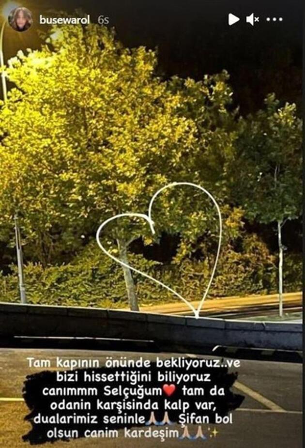 Buse Varol'dan duygulandıran Selçuk Tektaş mesajı