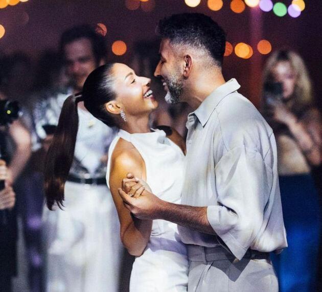 Zeynep Bastık, düğündeki en sevdiği fotoğrafını paylaştı