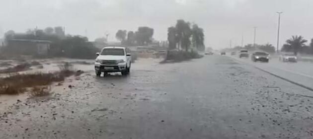 Yeni kurulan sistemle yağmur yağdırdılar