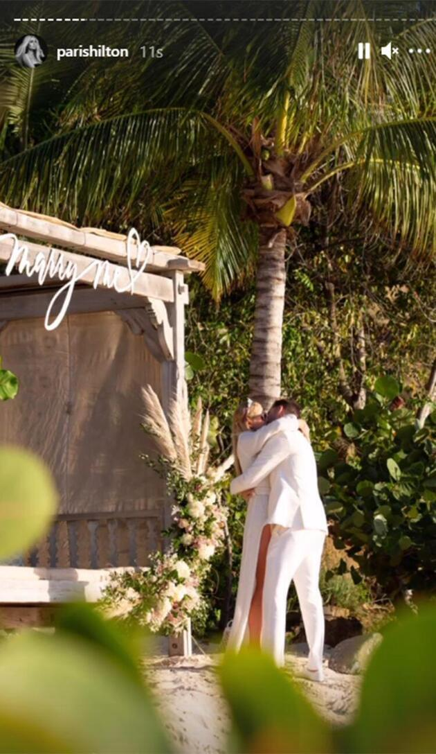 Paris Hilton'dan 'hamilelik' açıklaması: Evlenene kadar bekleyeceğim