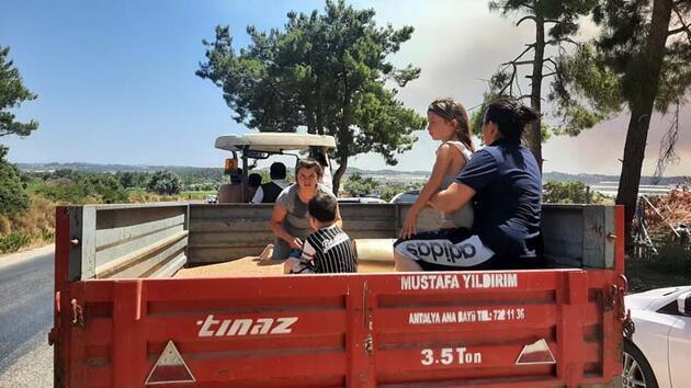 SON DAKİKA: Kare kare Manavgat'ta yangın dehşeti!