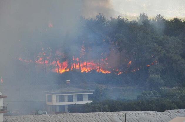 Manavgat'ta büyük yangın: Cehennemi yaşadık