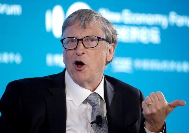 Bill Gates, teknesiyleBodrum'a geldi: Tavuk döner mi yeseydi?