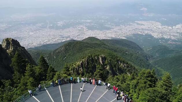 Bayramda milli parklara 5,5 milyon ziyaretçi