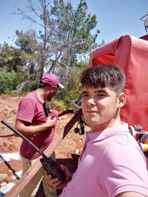 İtfaiyecilere yardım eden Şahin Akdemir hayatını kaybetti! Son paylaşımı yürek burktu