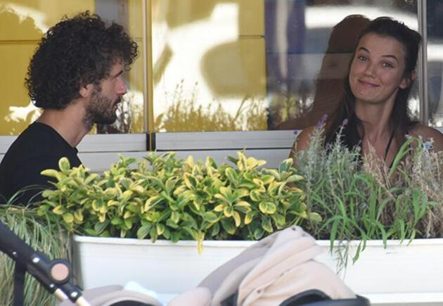 Pınar Deniz-Yiğit Kirazcı ilk kez el ele görüntülendi