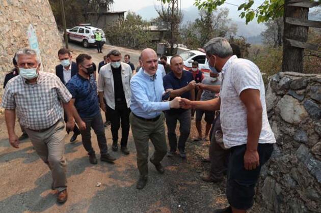 SON DAKİKA: Antalya Kemer'de üç noktada orman yangını