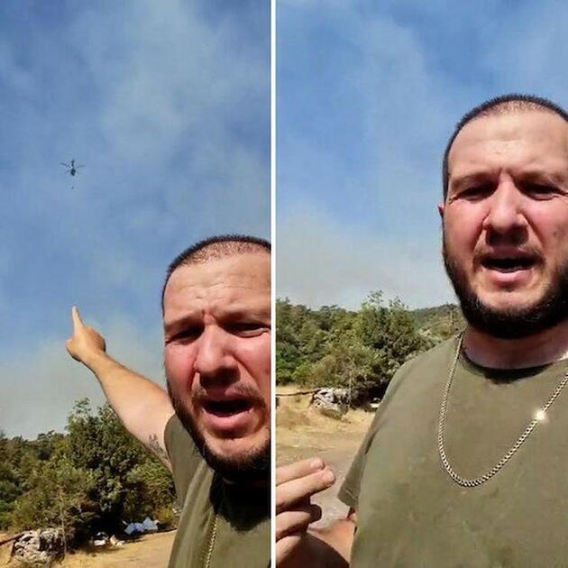 Şahan Gökbakar yardım istedi, helikopter geldi