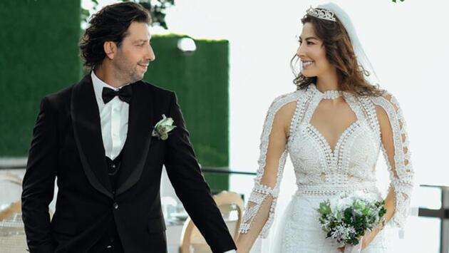 Manken Şenay Akay ve Tarık Soner evlendi