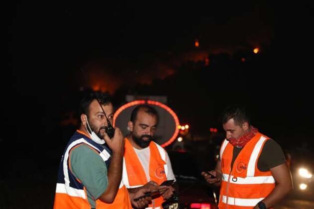 Orman yangınında gönüllü kahramanların 'asılsız ihbar' mesaisi
