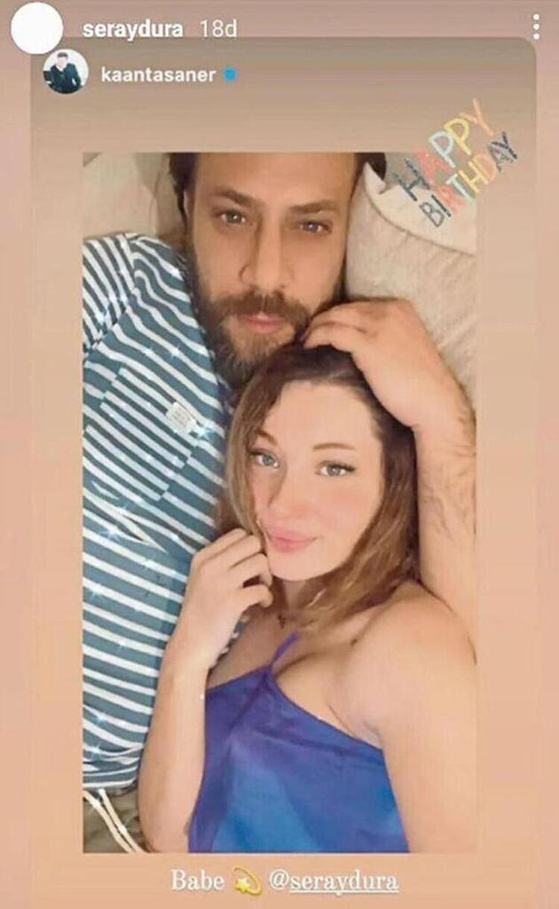 Kaan Taşaner ile sevgilisi Seray Dura Kilyos'ta görüntülendi