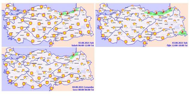 Son dakika... Orman yangınlarıyla mücadele bitmeden Antalya için Meteoroloji'den flaş uyarı
