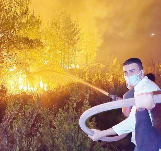 Ünlü isimler Türkiye'nin dört bir yanını saran yangınlar için tek yürek oldu