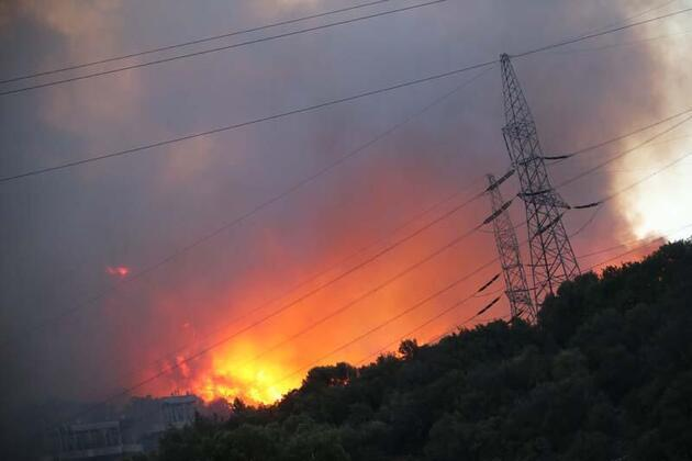 Alevlerin sıçradığı termik santralden açıklama
