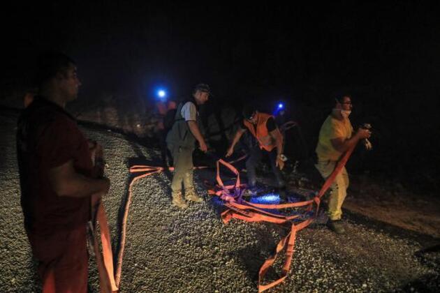 Alevlerle 220 saatlik savaşın kahramanları