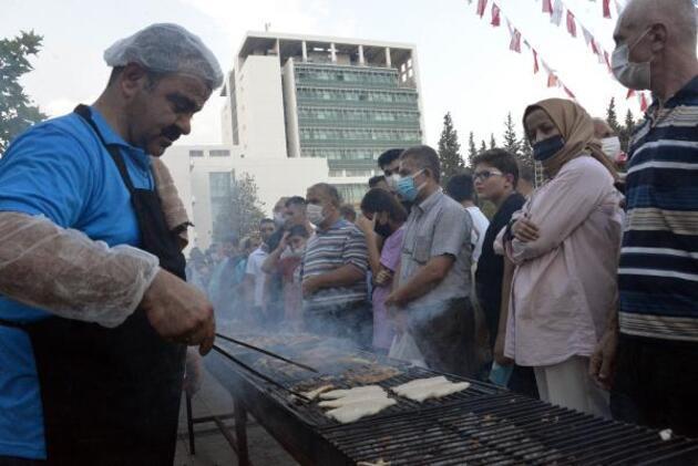 Denize kıyısı olmayan Kahramanmaraş'ta 'balık festivali' düzenledi