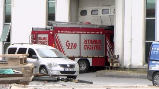 Fabrikada yangın: Çalışanlar kendilerini dışarıya attı