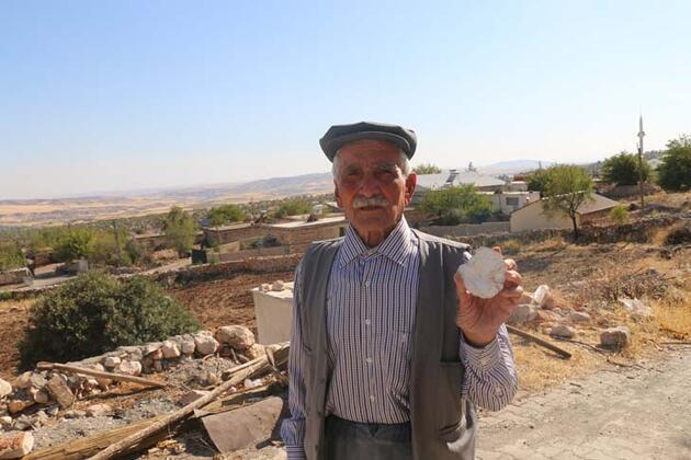 Adıyaman'da köylüler 65 milyon yıllık olduğu değerlendirilen fosil buldu