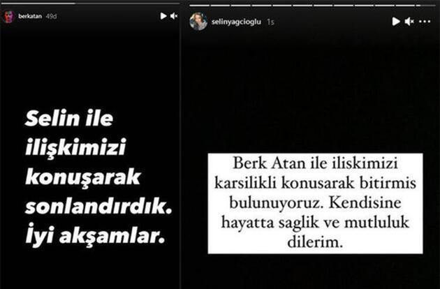 Selin Yağcıoğlu ile Berk Atan barıştı mı? O sözler kafaları karıştırdı