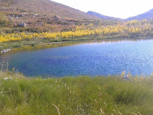 Kartal Gölü kuraklık nedeniyle can çekişiyor