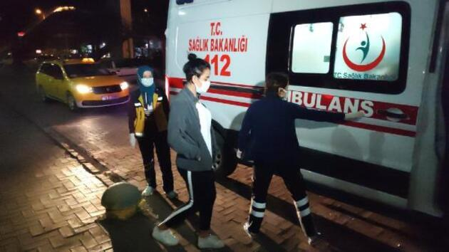 Taksi ücretini ödemek istemedi, polisleri görünce korona olduğunu söyledi