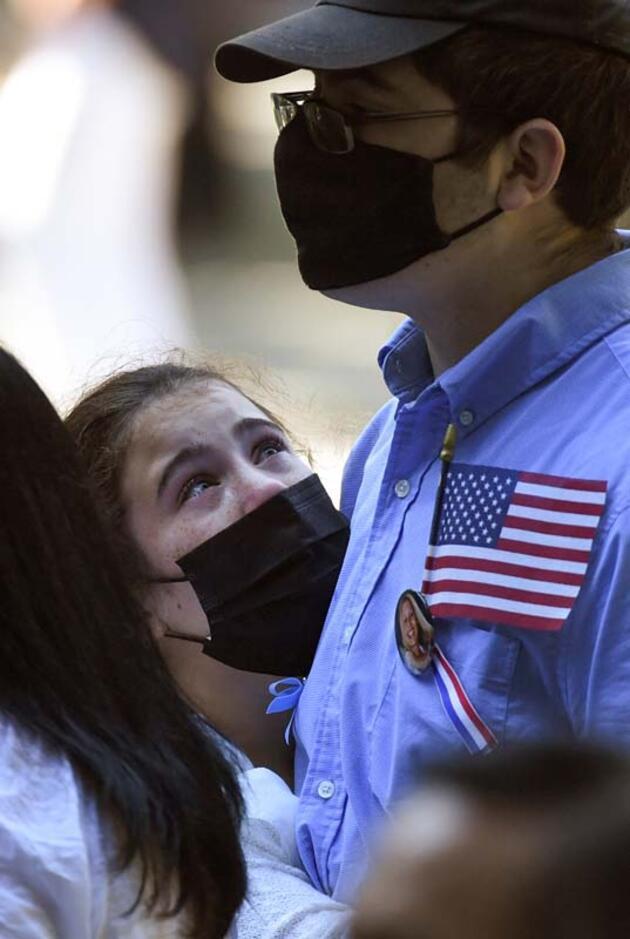 ABD'de 11 Eylül terör saldırılarının 20. yılında anma töreni düzenlendi