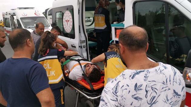 Yolcu otobüsü ile TIR çarpıştı: 3 yaralı