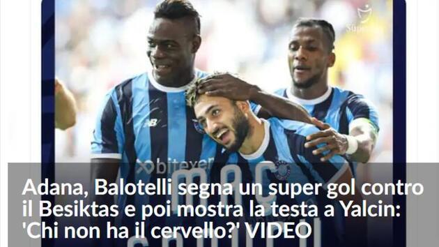 Son dakika... Balotelli'nin hareketi Avrupa basınında!