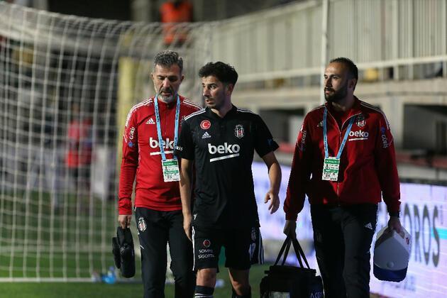 Son dakika... Beşiktaş'ta sakatlık sayısı 12'ye yükseldi!