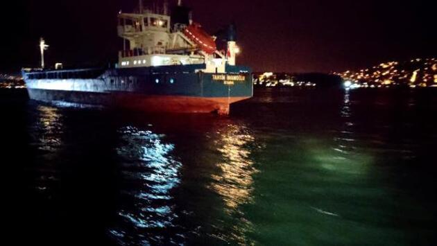 Son dakika: Türk ve Rus bandralı 2 yük gemisi çarpıştı