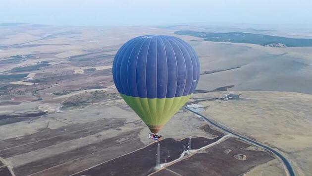 12 bin yıllık tarihi Göbeklitepe'de balon uçuşlarına yoğun ilgi