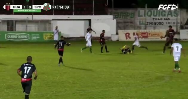 Son dakika... Brezilyalı futbolcu hakemi öldürüyordu!