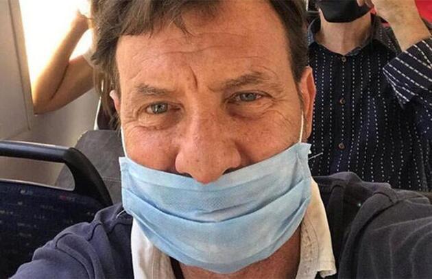 Kaya Çilingiroğlu'nun maske takmaması dikkat çekti