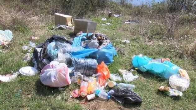 Ömerli Barajı'nın çevresi çöplüğe döndü köylüler durumdan şikayetçi