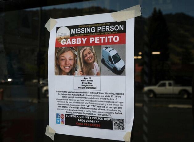 Ortadan kaybolmuştu: Cansız bedeni bulunan Youtuber Gabby Petito'nun ölüm nedeni belli oldu