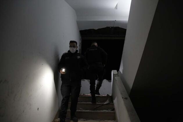 Reza Zarrab'ın el konulan binasına dadanan hırsızlara akşam baskını