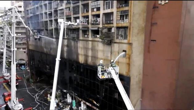 Tayvan'da 13 katlı binada yangın: En az 9 kişi hayatını kaybetti