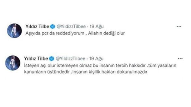 Yıldız Tilbe maskeve aşı hakkında soru soran muhabirlere çıkıştı