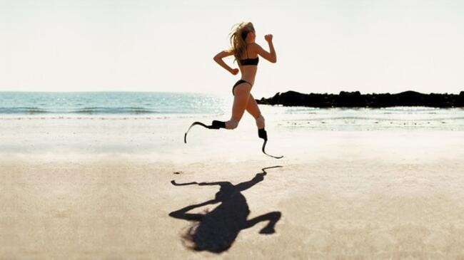 Aimee Mullins: Sanki hep havada asılı yaşadım!
