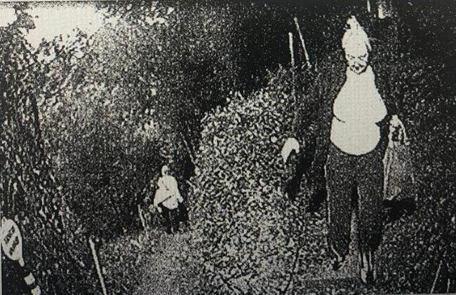 Görüntüler ilk kez ortaya çıktı... Oktar ve kediciği gizli geçitten böyle kaçmış