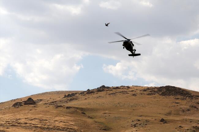 Orgeneral Çetin: Dağlar tamamen temizlenmiş durumda