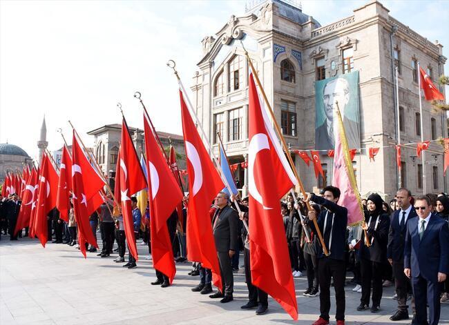 29 Ekim tüm Türkiye'de coşkuyla kutlanıyor