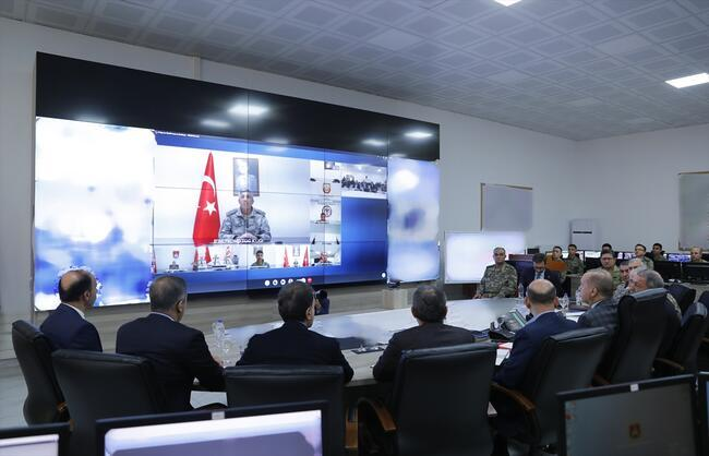 Son dakika... Cumhurbaşkanı Erdoğan Suriye sınırında
