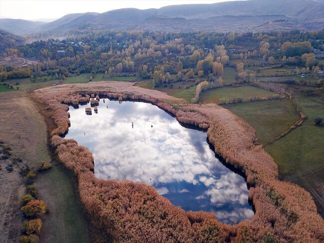 Doğa harikası Üçkaya Gölü ziyaretçilere açılacak