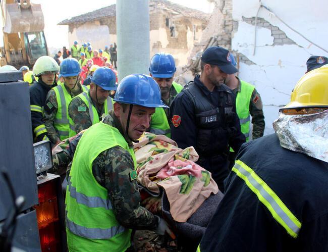 Arnavutluk'ta bir deprem daha! Bilanço ağırlaşıyor