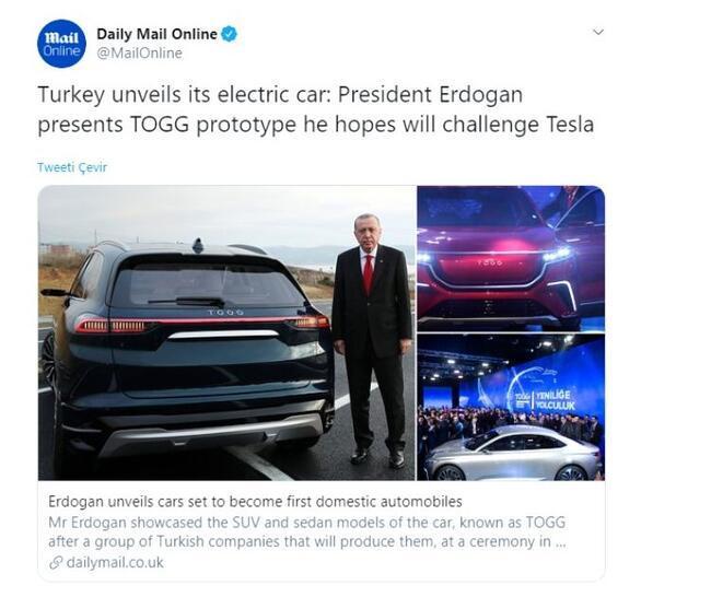 Dünya medyası yerli otomobili nasıl gördü?